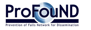 ProFouND Prevention of Falls Network for Dissemination Logo