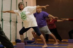 yoga lunge web