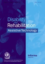 Disability and Rehabilitation: Self-management and adherence with exercise-based falls prevention programmes