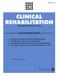 Clinical Rehabilitation: Effectiveness of an occupational therapy intervention in reducing emotional distress in informal caregivers of hip fracture patients